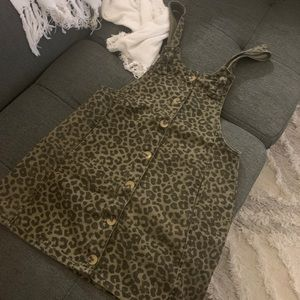 ZARA girls / kids - animal print jumpsuit dress